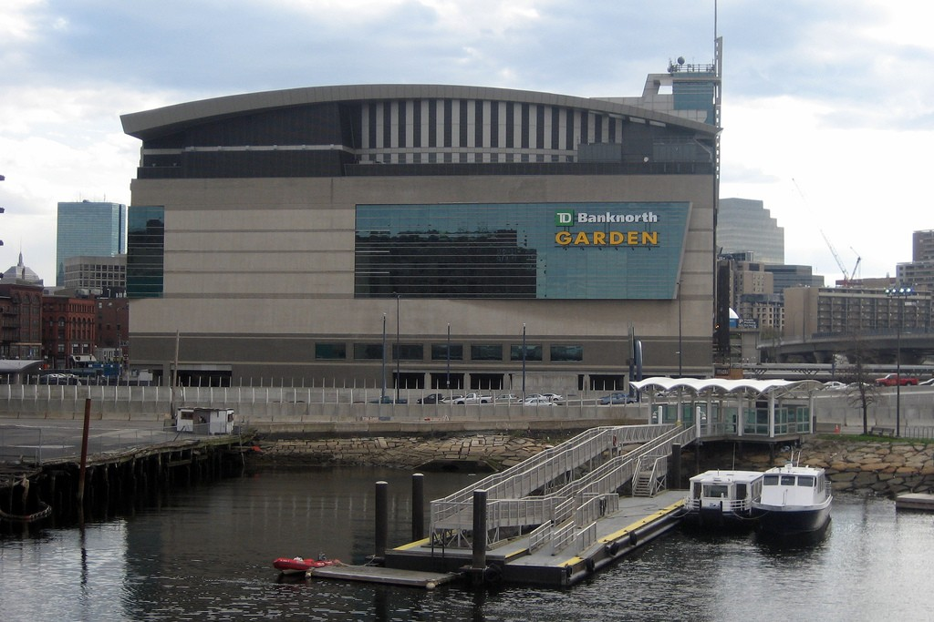 td arena boston celtics