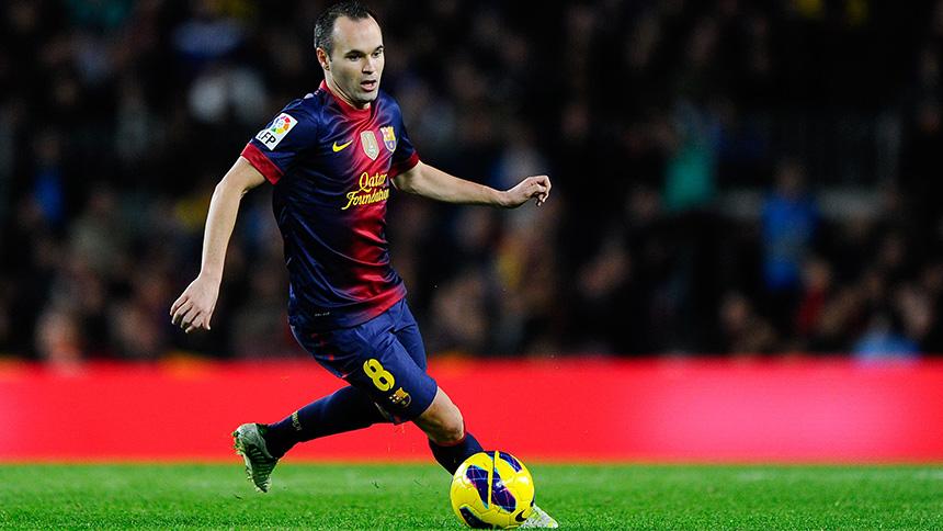 Most Successful Footballers - Iniesta