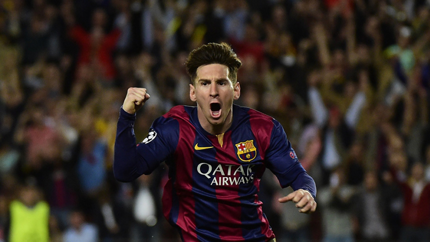 Most Successful Footballers - Messi