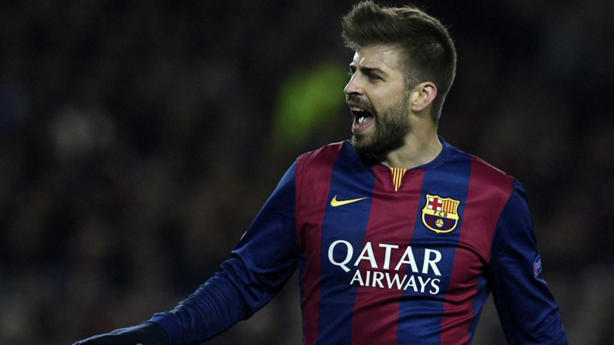 Most Successful Footballers - Pique