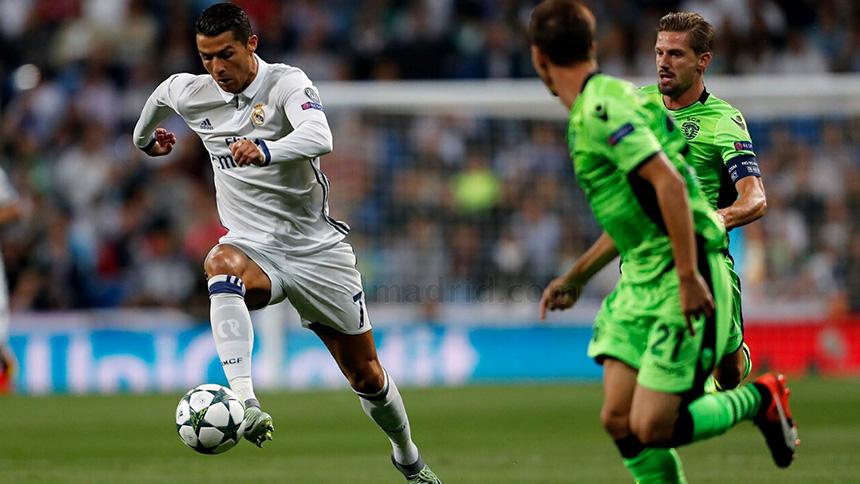 Ronaldo v Sporting