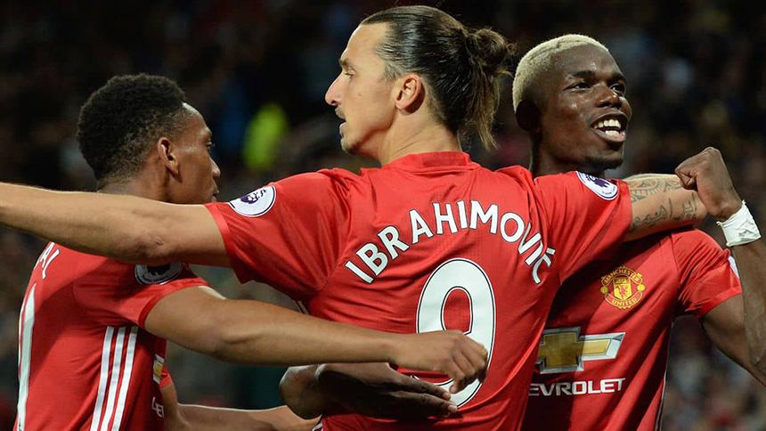 Ibrahimovic and Pogba