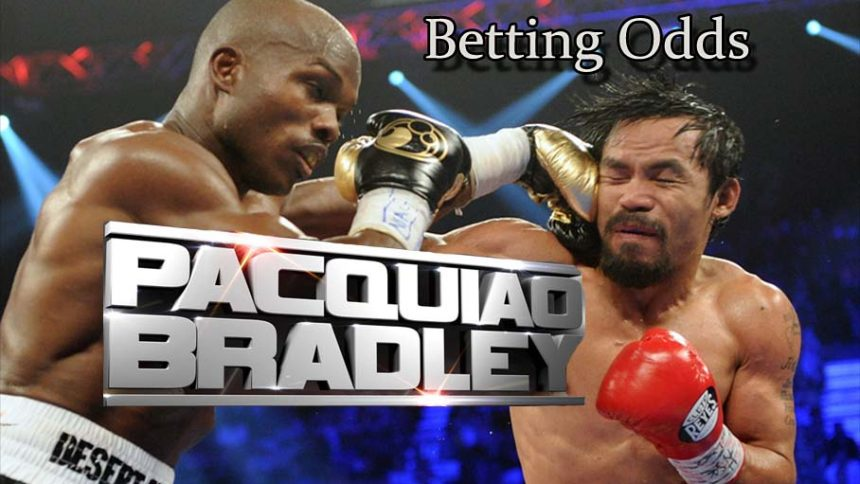 Pacquiao bradley odds betting craps betting pro lays flavors