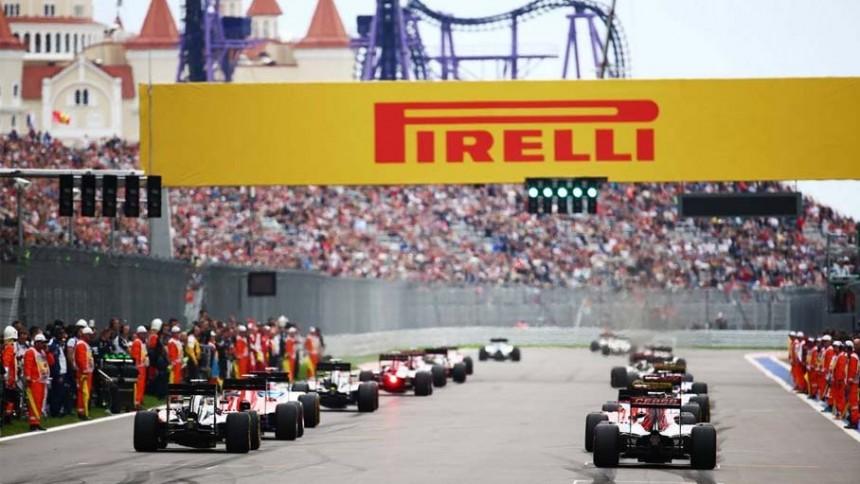 Pirello - Sponsor Formula 1